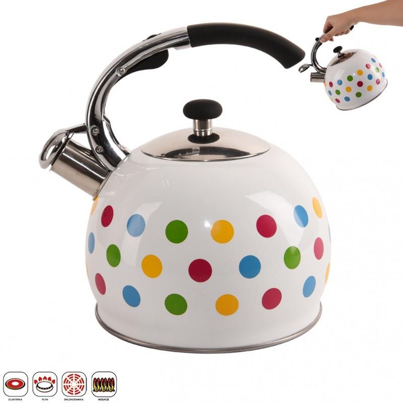 Zora rozsdamentes acélból készült teafőző - 3l - Háztartási kellékek ... 3667abb255